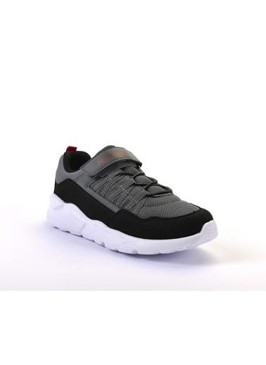 Slazenger Flover Erkek Çocuk Sneaker Ayakkabı Gri